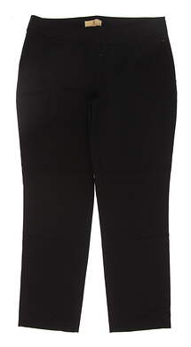 New Womens Sport Haley Golf Pants Size 2 Black MSRP $84