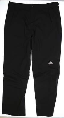 New Mens Adidas Golf Climaproof Storm rain Pants Size X-Large XL Black MSRP $170 W47545