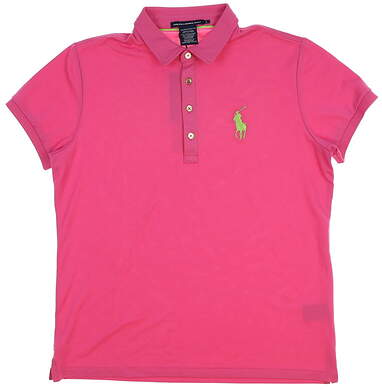 New Womens Ralph Lauren All Polo Large L Pink MSRP $90
