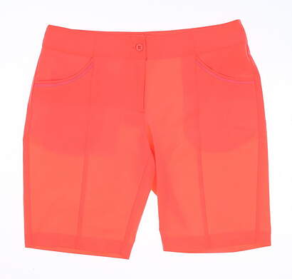 New Womens EP Pro All Shorts Size 4 Red MSRP $95