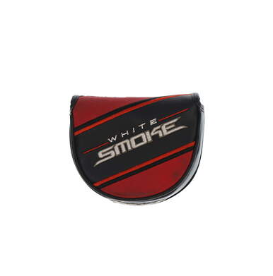 TaylorMade White Smoke Big Fontana Mallet Putter Headcover Black/Red