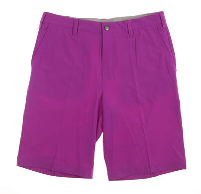 New Mens Adidas Golf Ultimate Shorts Size 32 Purple MSRP $75 AF0364