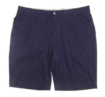New Mens Adidas Golf Shorts Size 40 Navy Blue MSRP $75 BC2416