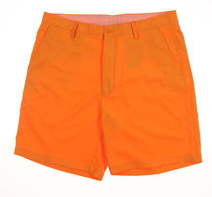 New Mens Fennec Golf Tech Flat Shorts Size 36 Orange MSRP $85 171F600