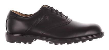 New Mens Golf Shoe Footjoy Country Club Professionals Medium 11 Black MSRP $163 57007
