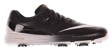 New Mens Golf Shoe Nike Lunar Control 4 Medium 9.5 Black/White MSRP $200 819037-001