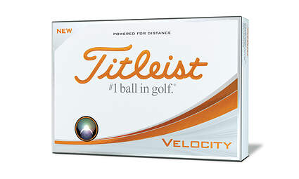 New Titleist Velocity Dozen Golf Balls