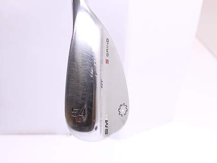 Titleist Vokey SM6 Tour Chrome Wedge Sand SW 54* 10 Deg Bounce S Grind SM6 BV Steel Wedge Flex Right Handed 35.25 in