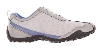New Womens Golf Shoe Footjoy Superlites Medium 8 White/Blue MSRP $140