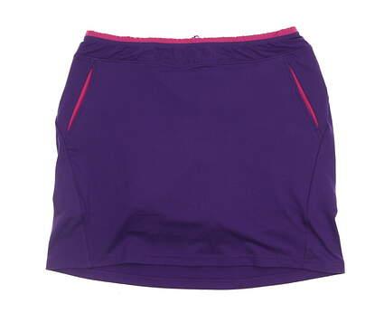 New Womens Ralph Lauren Golf Skort Size Large L Purple MSRP $98 0498208