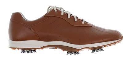 New Womens Golf Shoe Footjoy emBody Medium 6.5 Brown MSRP $130