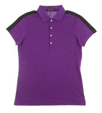 New Womens Ralph Lauren Golf Polo Small S Purple MSRP $90