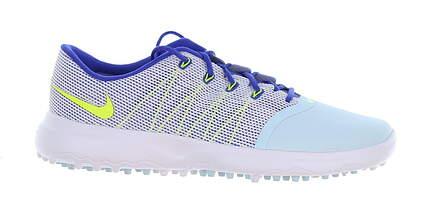 New Womens Golf Shoe Nike Lunar Empress 2 8.5 Glacier Blue/Volt MSRP $120