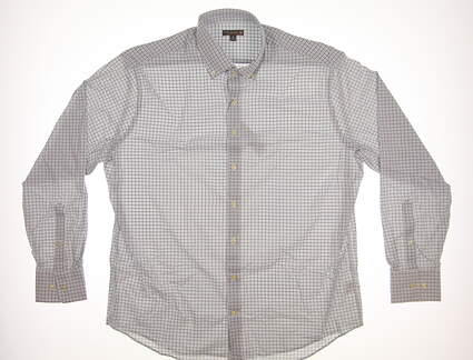 New Mens Peter Millar Button Up X-Large XL Multi MSRP $135 MS17EW15BL