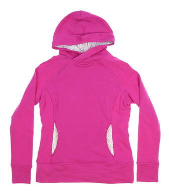 New Womens Fairway & Greene Spencer Hoodie Small S Allure Pink MSRP $125 G12250