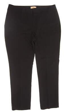 New Womens Sport Haley Golf Pants Size 12 Black MSRP $98 WD024010