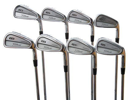 Titleist 710 CB Iron Set 3-PW True Temper Dynamic Gold S300 Steel Stiff Right Handed 38 in