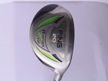 Ping Rapture V2 Hybrid 3 Hybrid 20* Ping TFC 939H Graphite Stiff Right Handed 39.75 in