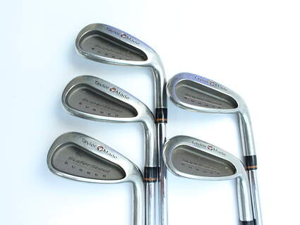 TaylorMade Supersteel Iron Set 6-PW TM R-80 Steel Steel Regular Right Handed 37 in
