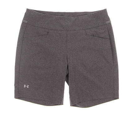 New Womens Under Armour Golf Shorts Size X-Small XS Gray MSRP $70 uw6670