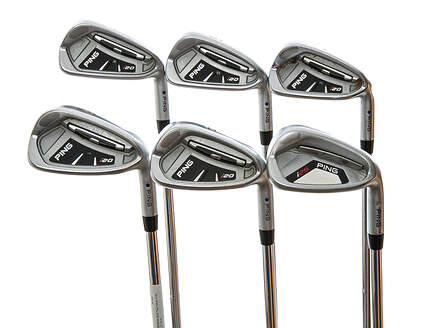 Tour Issue Ping I20 Iron Set 5-PW Dynamic Gold Tour Issue X100 Steel X-Stiff Right Handed Blue Dot 37.75 in