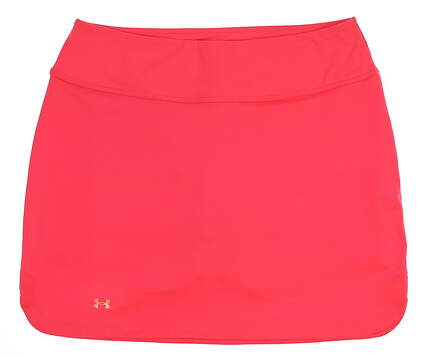 New Womens Under Armour Golf Skort Size X-Large XL Pink MSRP $70