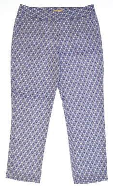 New Womens Sport Haley Golf Pants Size 8 Multi MSRP $90