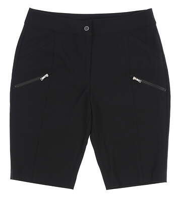 New Womens EP Pro Golf Shorts Size 6 Black MSRP $75