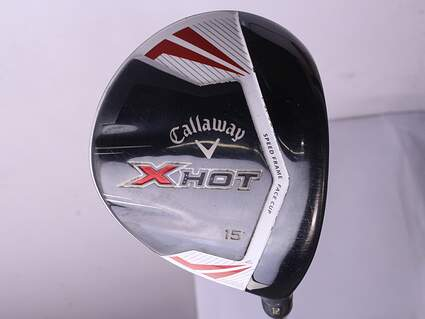 Callaway 2013 X Hot Pro Fairway Wood 3 Wood 3W 15* Project X PXv Graphite Stiff Right Handed 43.25 in