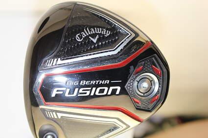 Callaway 2016 Big Bertha Fusion Driver 10.5* Fujikura Motore Speeder 565 Graphite Stiff Left Handed 45.5 in