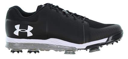New Mens Golf Shoe Under Armour UA Sport 9 Black/White MSRP $150