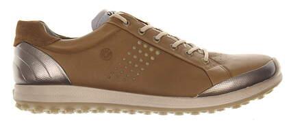 New Mens Golf Shoe Ecco BIOM Hybrid 2 41 (7-7.5) Brown MSRP $200