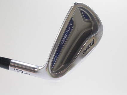 Mizuno MX 200 Single Iron 6 Iron Nippon 950GH Steel Regular Right Handed 37.5 in