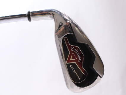 Callaway 2006 Big Bertha Single Iron 4 Iron Stock Steel Shaft Steel Uniflex Left Handed 38.25 in