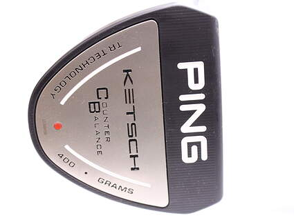 Tour Issue Ping Ketsch Counterbalance Putter Slight Arc Steel Left Handed Red dot 34 in