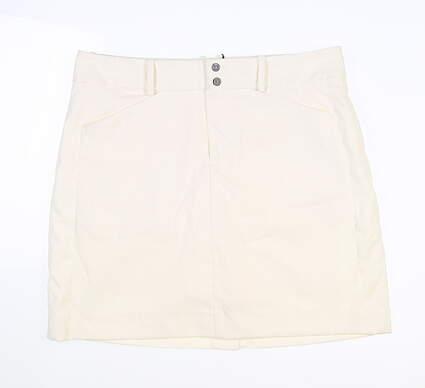 New Womens Ralph Lauren Golf Skort Size 4 Ivory MSRP $125