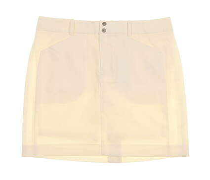 New Womens Ralph Lauren Golf Skort Size 6 Ivory MSRP $125