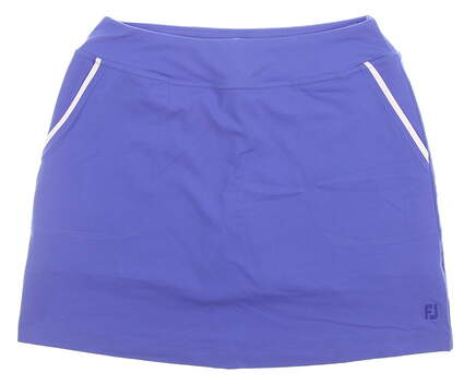 New Womens Footjoy Performance Golf Skort Size Large L Blue MSRP $85 23864