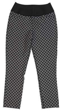 New Womens Puma PWRSHAPE Checker Pant Size Small S Puma Black MSRP $55 577955 02
