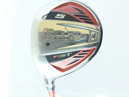 Cobra Speed LD F Fairway Wood 5 Wood 5W 18* Graphite Design Tour AD YS Fwy Graphite Regular Left Handed 42.5 in