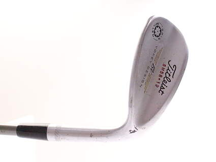 Titleist Vokey Spin Milled Wedge Lob LW 58* 12 Deg Bounce Ping TFC 100I Graphite Regular Right Handed 35.25 in
