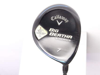 Callaway Big Bertha V Series Fairway Wood 7 Wood 7W Mitsubishi Bassara E-Series 42 Graphite Ladies Right Handed 41 in