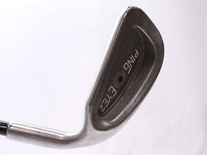 Ping Eye 2 + Single Iron 9 Iron Mammoth Classic Graphite Stiff Right Handed Black Dot 37.5 in