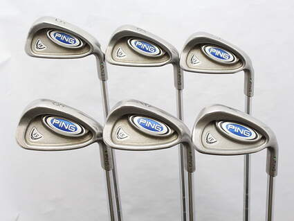 Ping i5 Iron Set 5-PW FST KBS Tour Steel Stiff Right Handed Green Dot 38.75 in