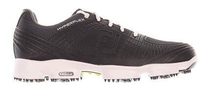 New Mens Golf Shoe Footjoy Hyperflex II Medium 10 Black MSRP $160