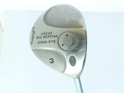 Callaway Hawkeye Fairway Wood 3 Wood 3W Hawkeye Gems UL Graphite Ladies Right Handed 42.5 in