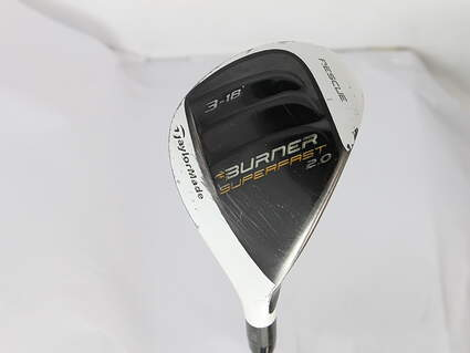 TaylorMade Burner Superfast 2.0 Hybrid 3 Hybrid 18* TM Reax 50 Graphite Ladies Right Handed 40 in