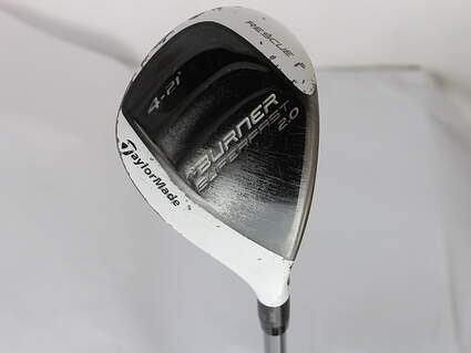 TaylorMade Burner Superfast 2.0 Hybrid 4 Hybrid 21* TM Reax 50 Graphite Ladies Right Handed 39.5 in