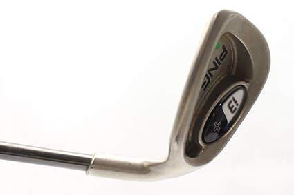 Ping i3 + Single Iron 8 Iron Stock Graphite Shaft Graphite Senior Right Handed Green Dot 36.5 in