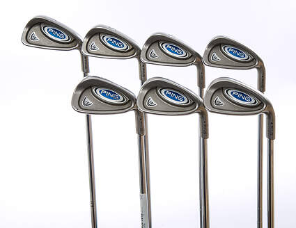 Ping i5 Iron Set 4-PW Ping CS Lite Steel Regular Right Handed Black Dot 38 in